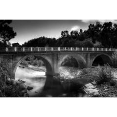 Pont et rivière du Cavu