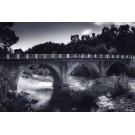 Pont et rivière du Cavu Blue