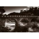 Pont et rivière du Cavu Brown