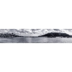 "Crédence ""Baie de Santa Giulia"""
