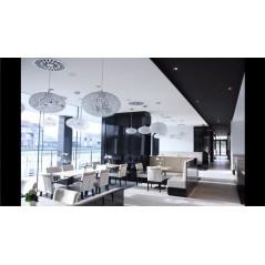 A007 Plafonds tendus noir et blanc